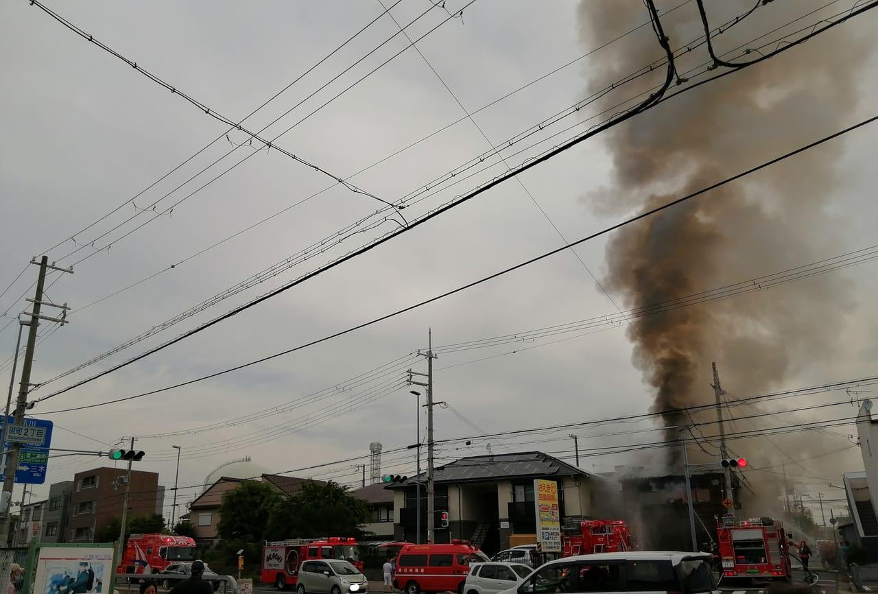 野田市 火事