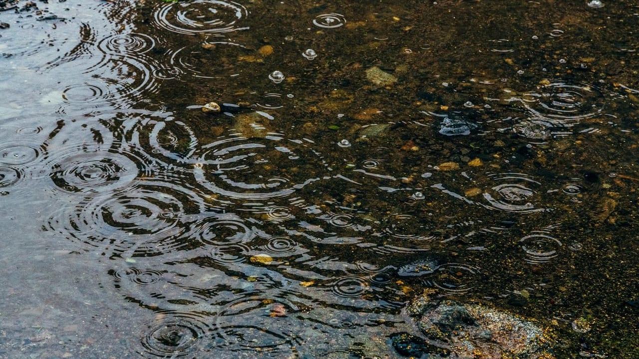 明石市に大雨警報