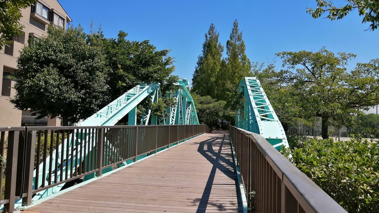 旧小久保し線橋